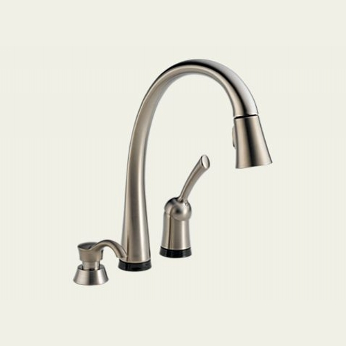 Kitchen 2.0: Delta Pilar Pull-Down Touch2O Faucet 980T