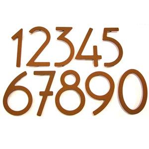 Art Deco At Your Door HouseArt House Numbers