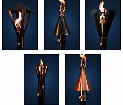 Red Dragon Gas Patio Lantern Tiki Torches