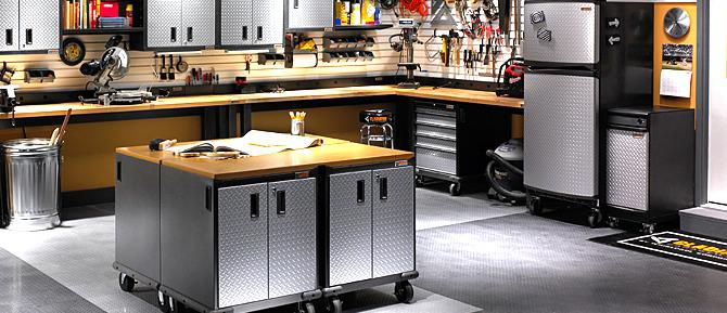 Man Cave Storage Solutions : Gladiator garageworks nhs interview on garage storage
