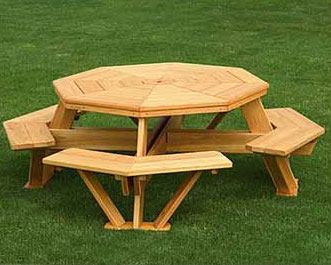 All picnic tables com for summer memories and lots of - Table picnic bois enfant ...