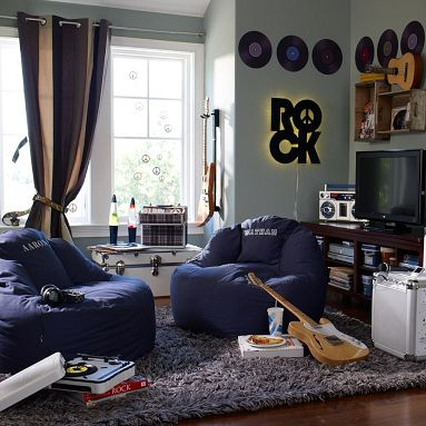 Teenage Room Ideas on Room D  Cor Ideas For Boys From Pb Teen