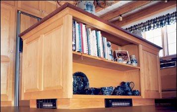 Kickspace Heater Cabinet