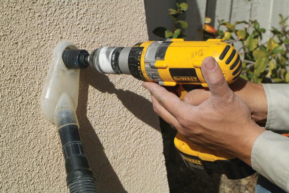 Как сделать пылесос на перфоратор