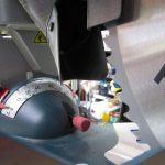 acial glide dust collection port