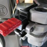 axial glide lock lever