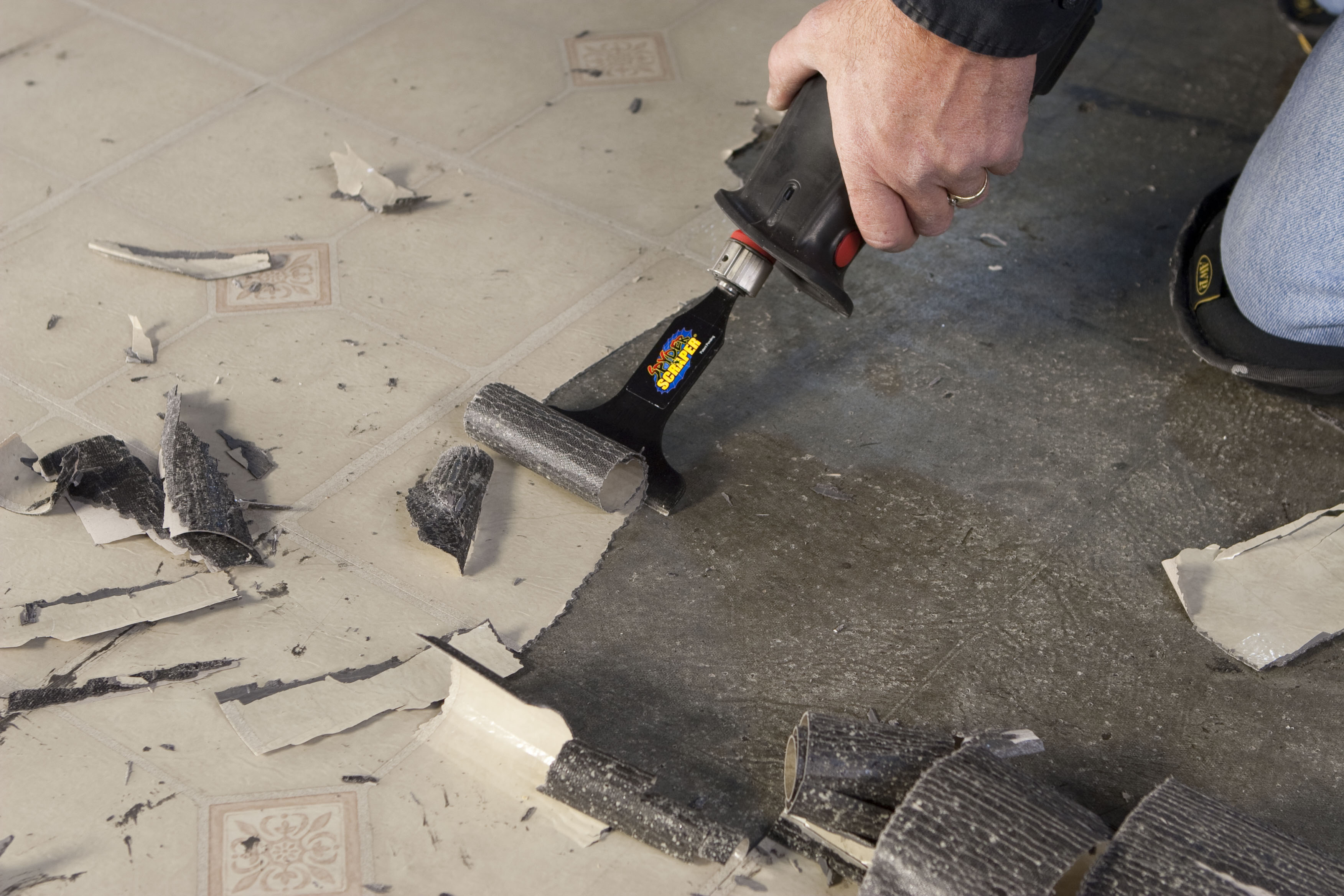 Spyder Reciprocating Attachments- Grout Removal and Scraping