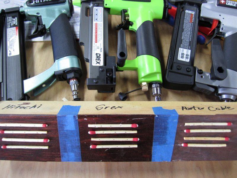 23 gauge matchstick test