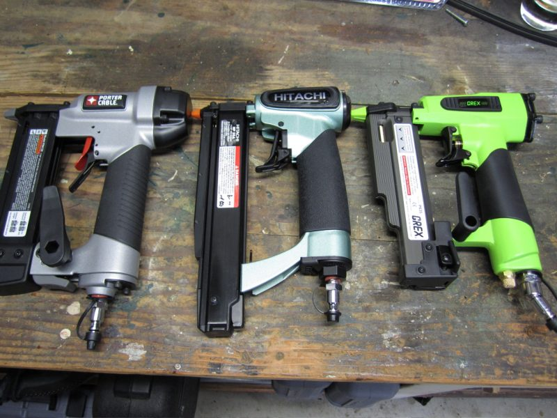 porter cable hitachi and grex 23 gauge pin nailers
