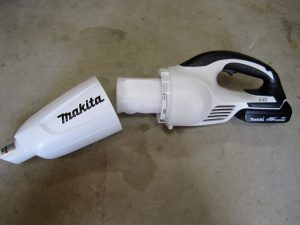 makita vacuum filter before testing