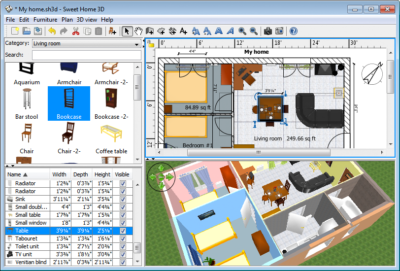 Virtual floorplans and online drafting tools man s best for Aplicacion para hacer planos en 3d