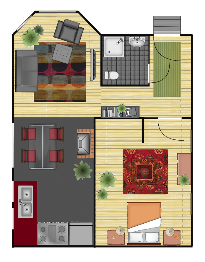 Gliffy Floor Plan