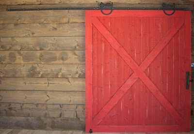 red sliding barn door. Sliding-barn-door Red Sliding Barn Door R