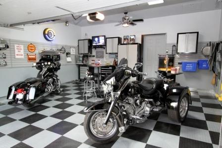 Motorcycle Man Cave Garage : Ode to the man cave
