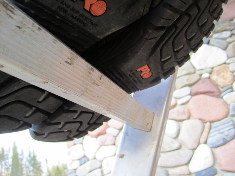 timberland ladder lock tread