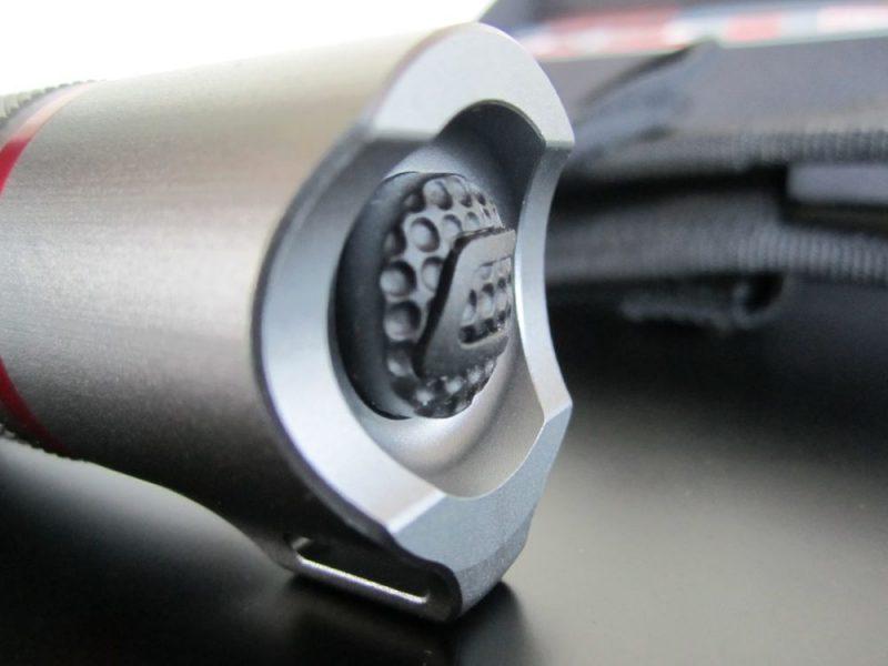 Coast hp7 power button