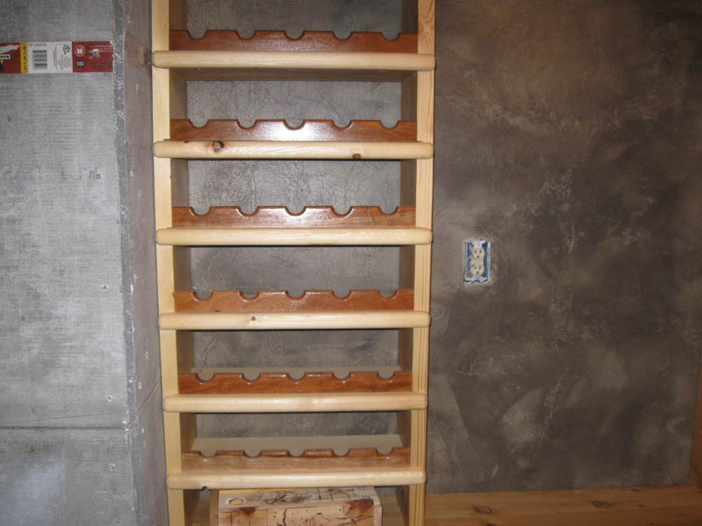How To Build A Wine Rack From Salvaged Wood