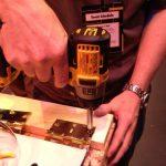 dewalt impact brass screws