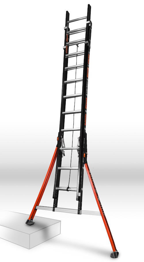 Extension Ladder Safety : Extension ladder safety little giant sumo stance