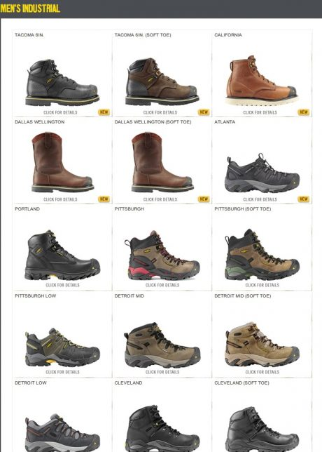Mens Industrial Shoes – KEEN
