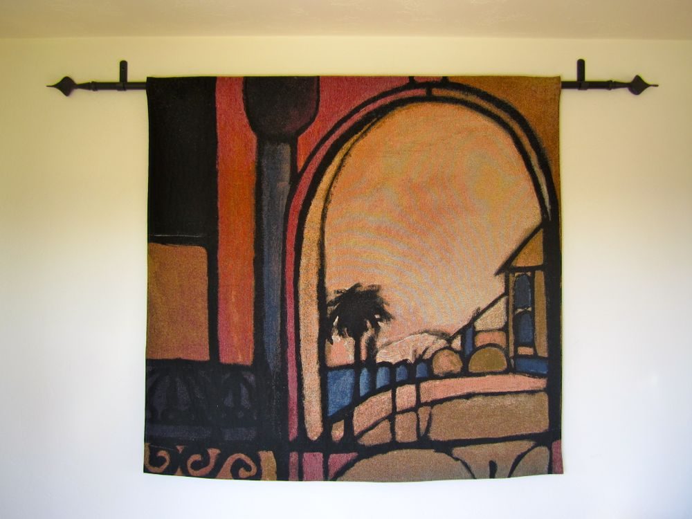 How To Hang A Tapestry With Regular Curtain Rod