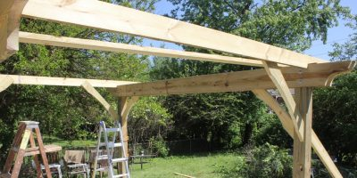 How to Build A Pergola – Two Days and $500 to Pergolic Splendor!
