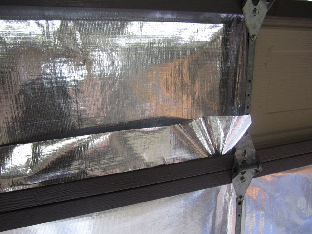 Garage Door Insulation Kit How To And Review Reach Radiant Barrier