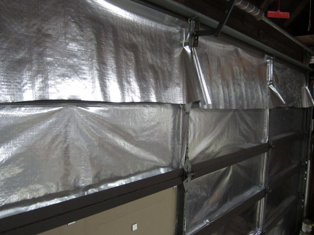 Garage Door Insulation Kit How To And Review Reach