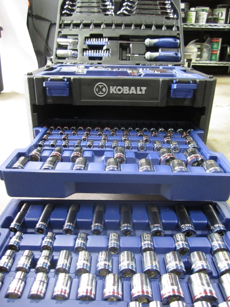 Kobalt Tools Review >> Mechanics Tool Set Review Kobalt 227 Piece A Tool For Every Fastener