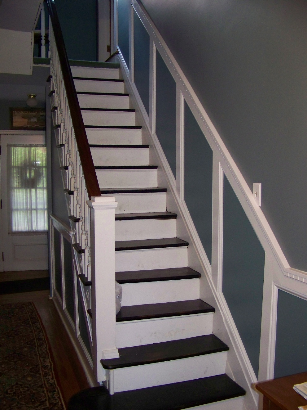 How To Install Wainscoting Stairway Wainscoting Redo