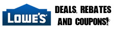 Lowes Coupon and rebates