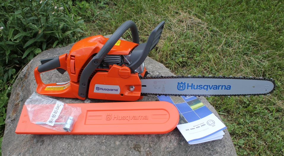 Husqvarna 450 chain saw review want greentooth Images