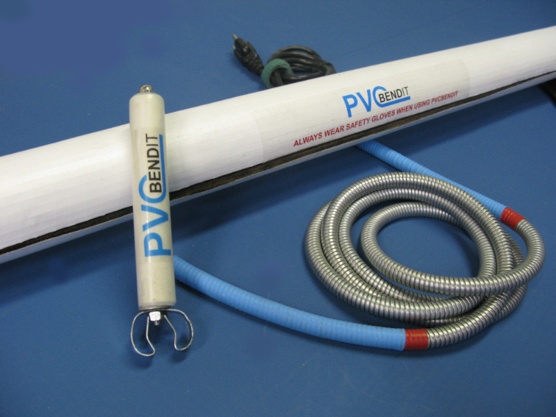 How to bend pvc pipe the easy way bendit
