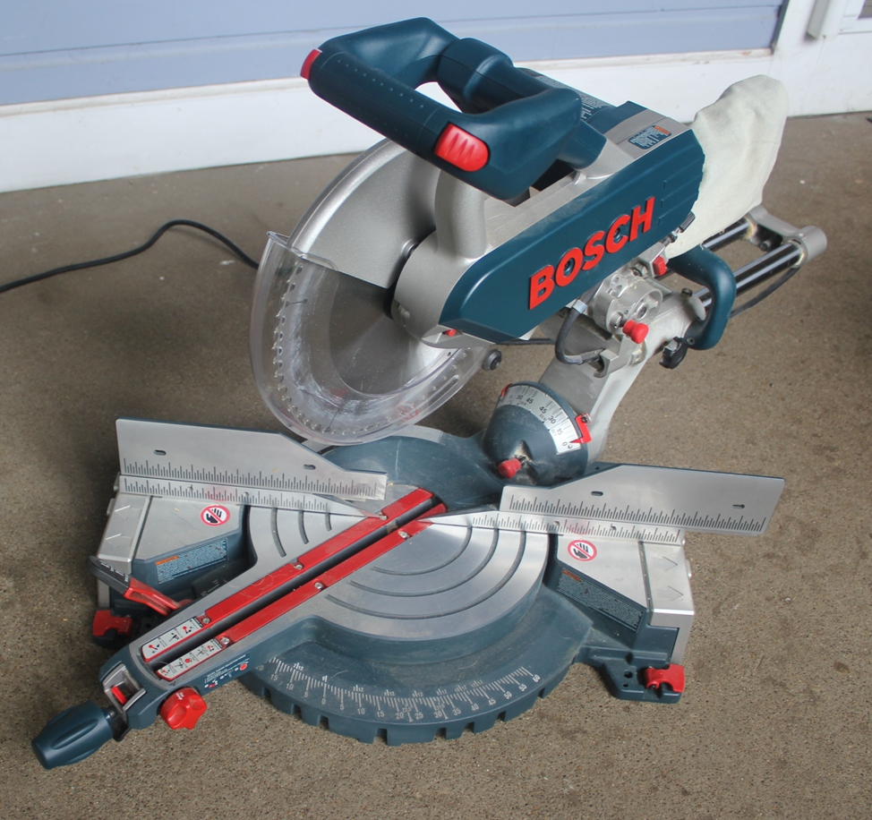 Review Of Bosch 5312 12 Inch Dual Bevel Slide Compound