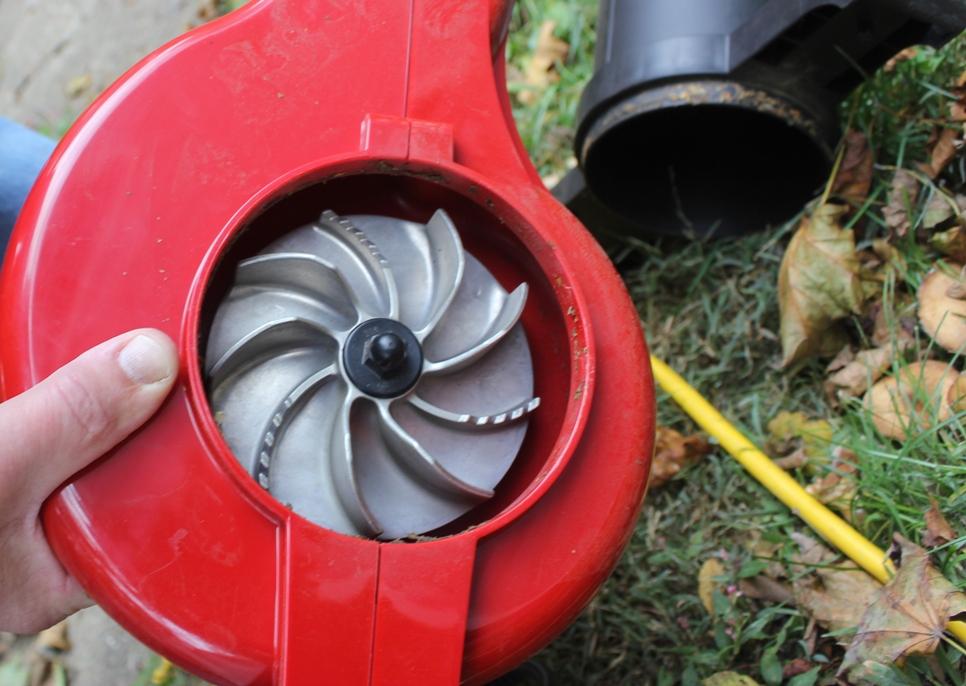 Oil Blower Impeller Housing : Toro ultra leaf blower vac review