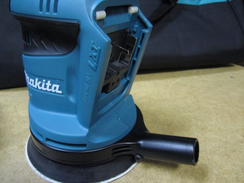 makita-18v-sander-battery-empty