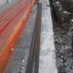 Rebar Ready to be Manipulated by Man-Hands