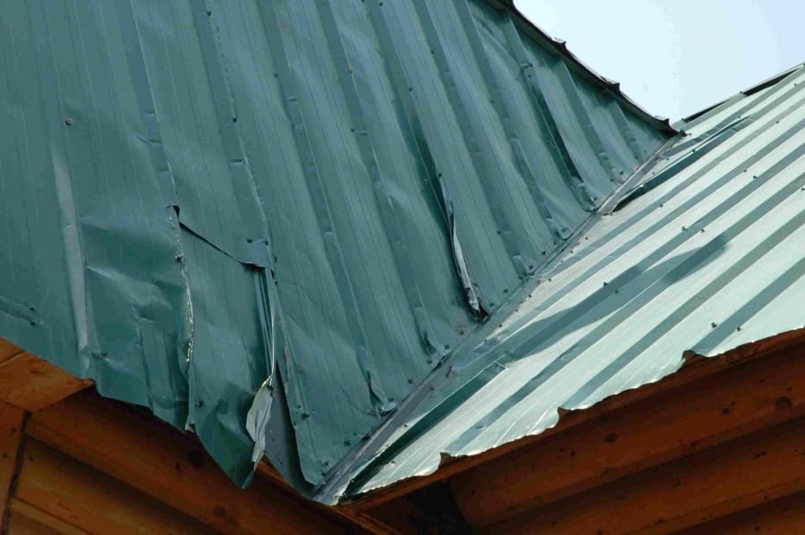 Metal Roof Damages