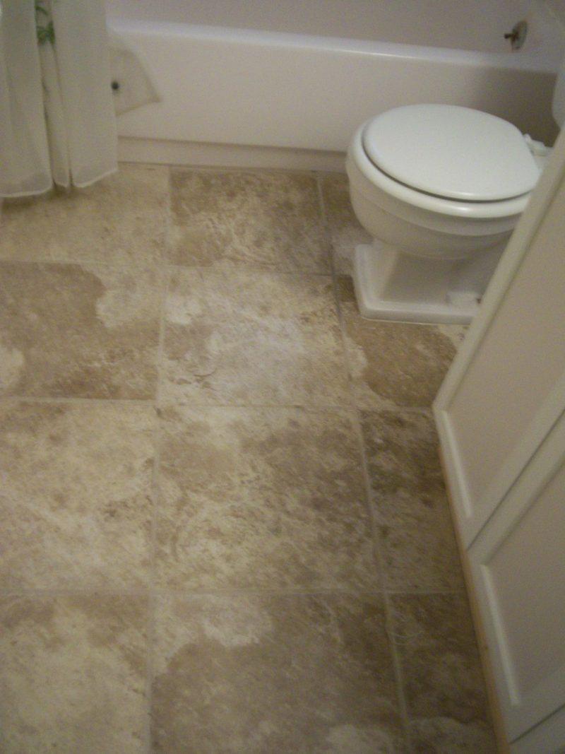New floor tile