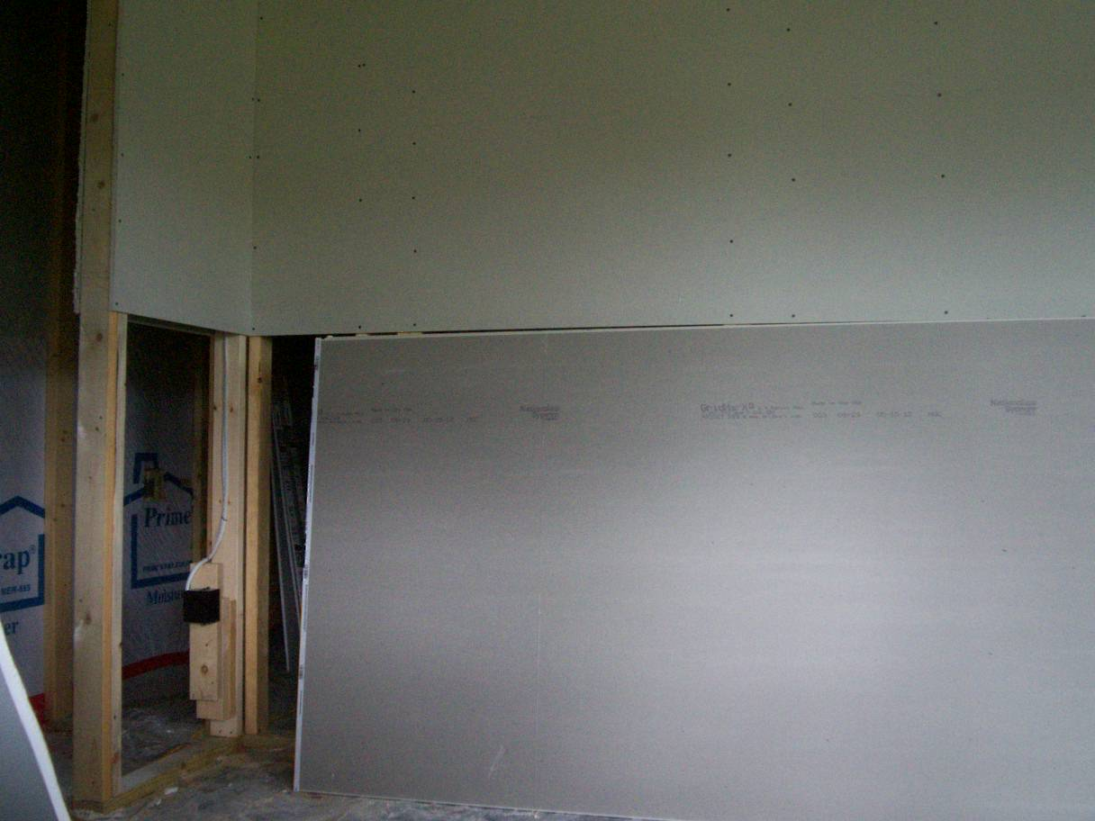 Gypsum Sheetrock Over Plaster : How drywall is made installed finished and textured