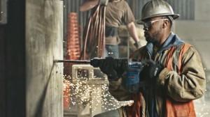 Bosch Handheld Jackhammer Chowing Down