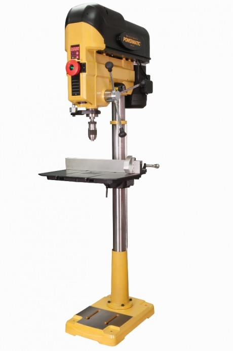 The Powermatic PM2800B Drill Press Loves to Eat Up Wood