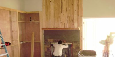 Getting Stoned – Tips for Installing Stone Veneer for a Stacked Stone Fireplace