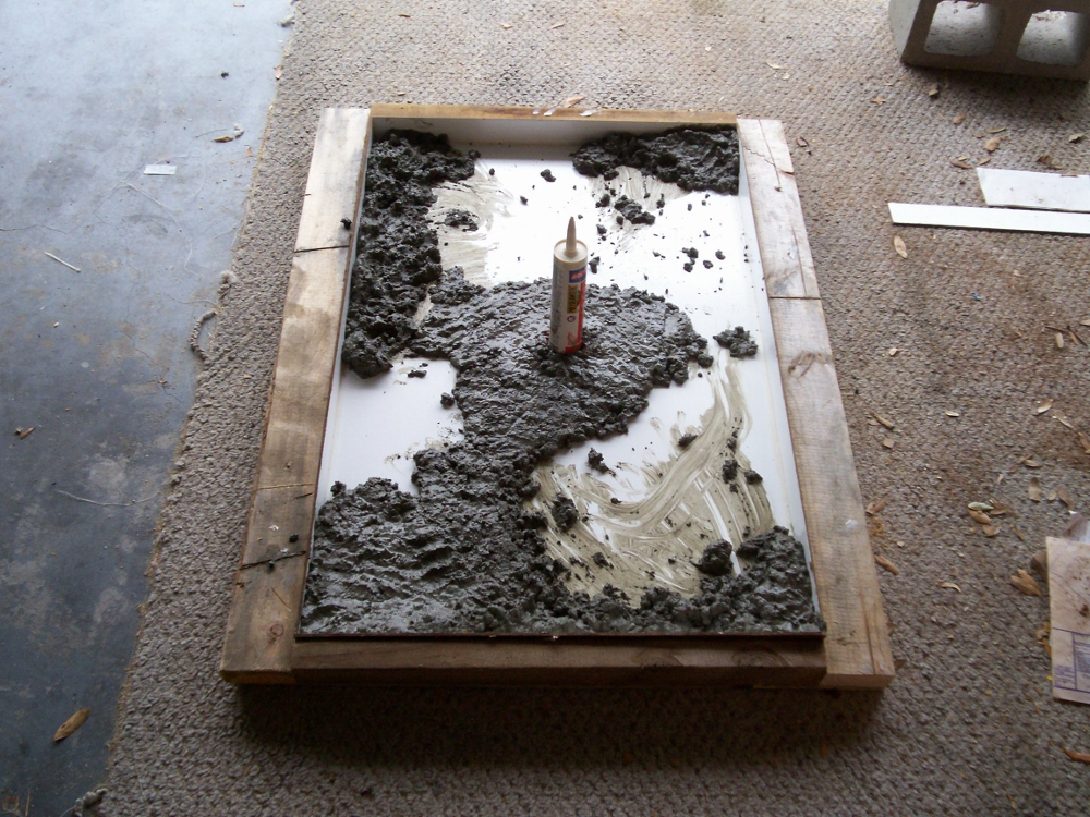 how to make concrete forms