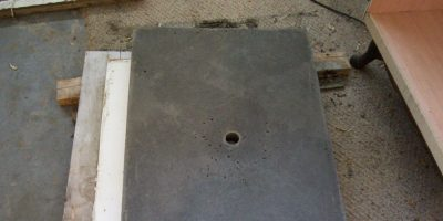 How to Build a Vanity Part II – DIY Concrete Countertop Phase