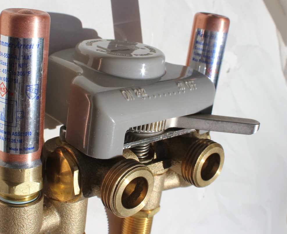 Levers Water Flow : Timeout automatic shut off valve review