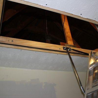 A Lofty Project – Installing an Attic Ladder