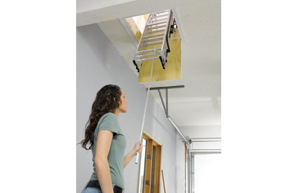 install a compact ladder