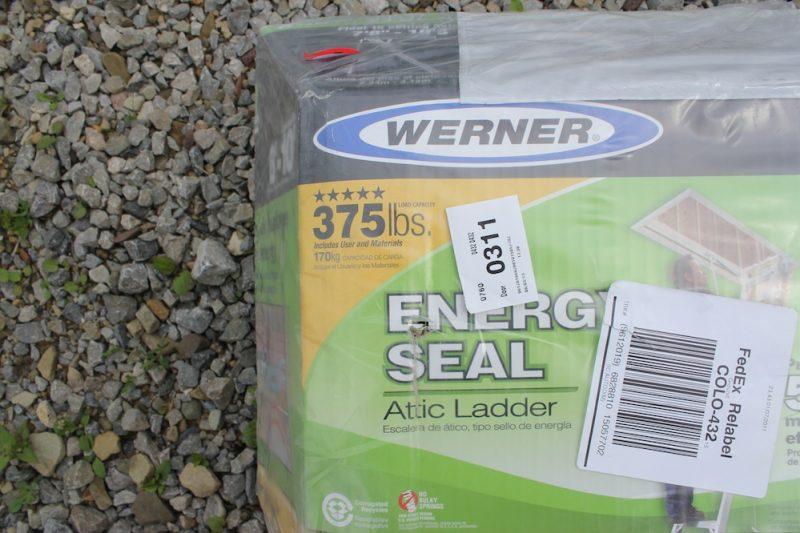 install an attic ladder