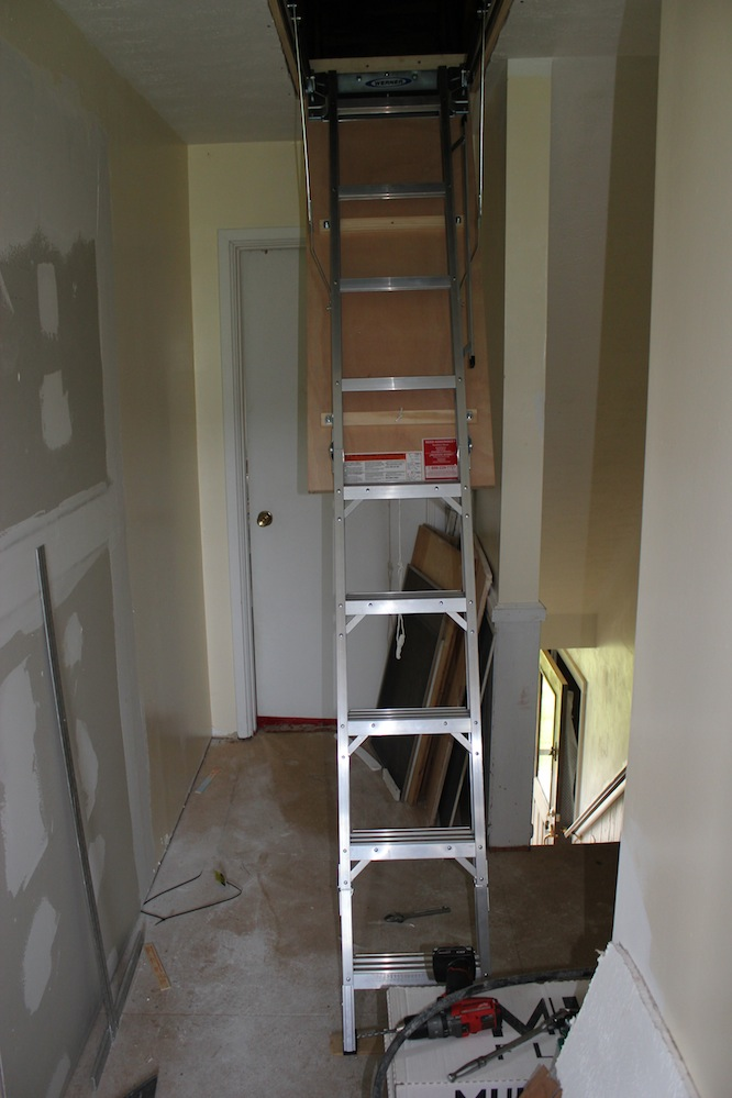 Attic Ladder Installation Step By Step With Photos